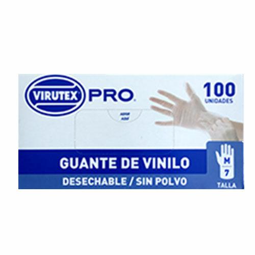 guante vinilo sin polvo