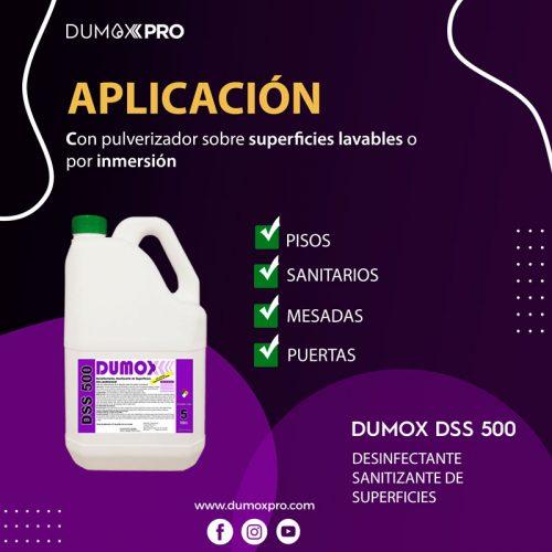 DUMOX DSS 500 APLICACIÓN