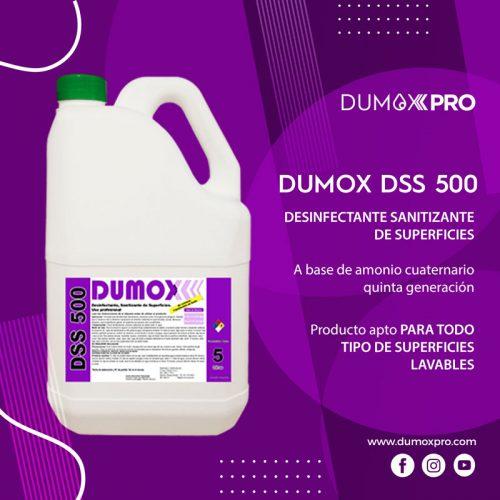 DUMOX DSS 500 PRESENTACIÓN