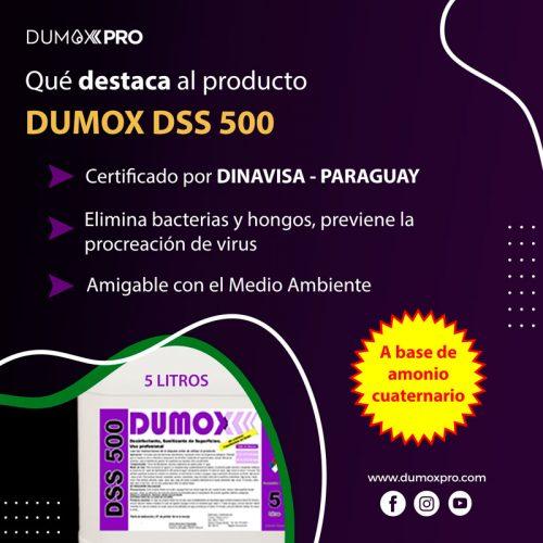 DSS 500 CARACTERÍSTICAS