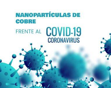 Nanopartículas de cobre COVID-19