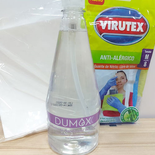 Kit desinfección