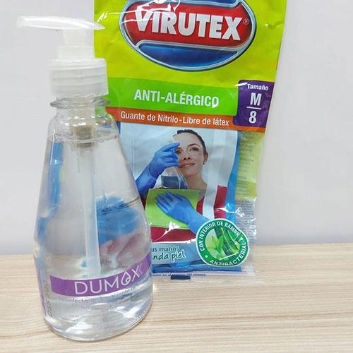 Kit básico desinfección